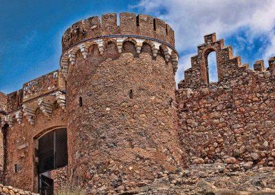 Puerta acceso al castillo de Onda